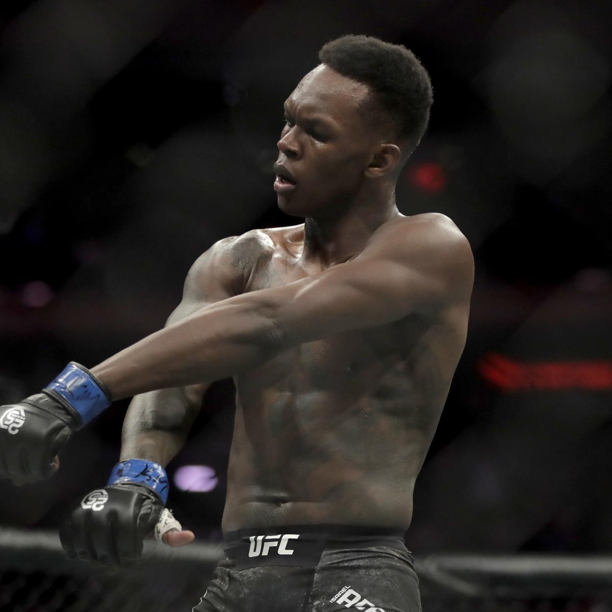UFC's Israel Adesanya, Sijara Eubanks Slam Colby Covington over Racist Comments