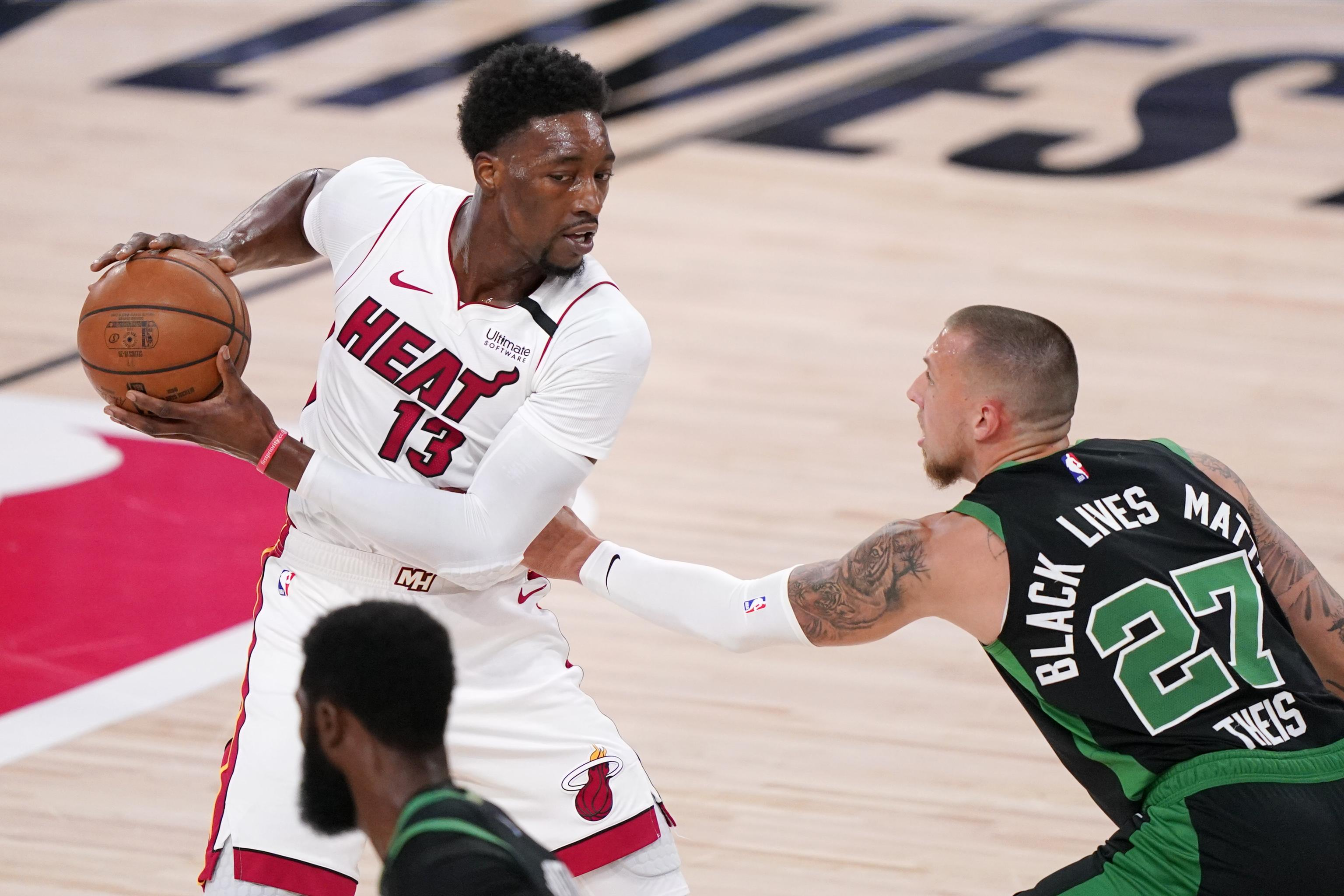 Bam Adebayo On Heat S Game 5 Loss Vs Celtics I Put That One On Me Bleacher Report Latest News Videos And Highlights