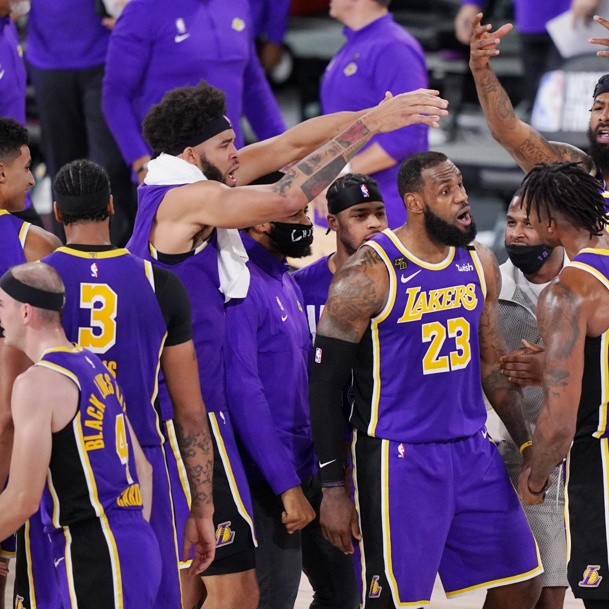 LeBron James Leads Lakers Past Nuggets to 1st NBA Finals Since 2010