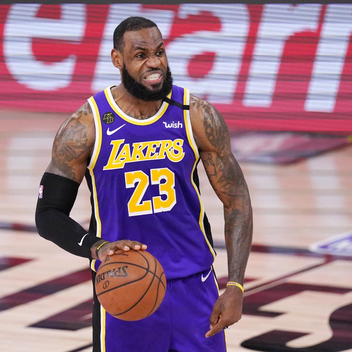 By Leading Lakers to Finals, LeBron James Reinforces Case as NBA's Best Player