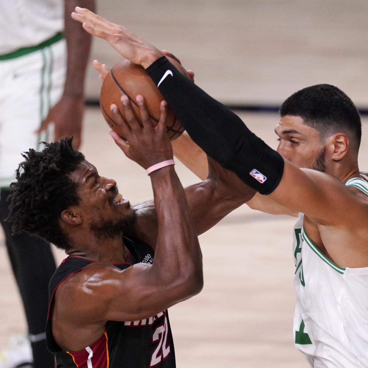Jimmy Butler, Heat Defeat Celtics; Will Face LeBron James, Lakers in NBA Finals