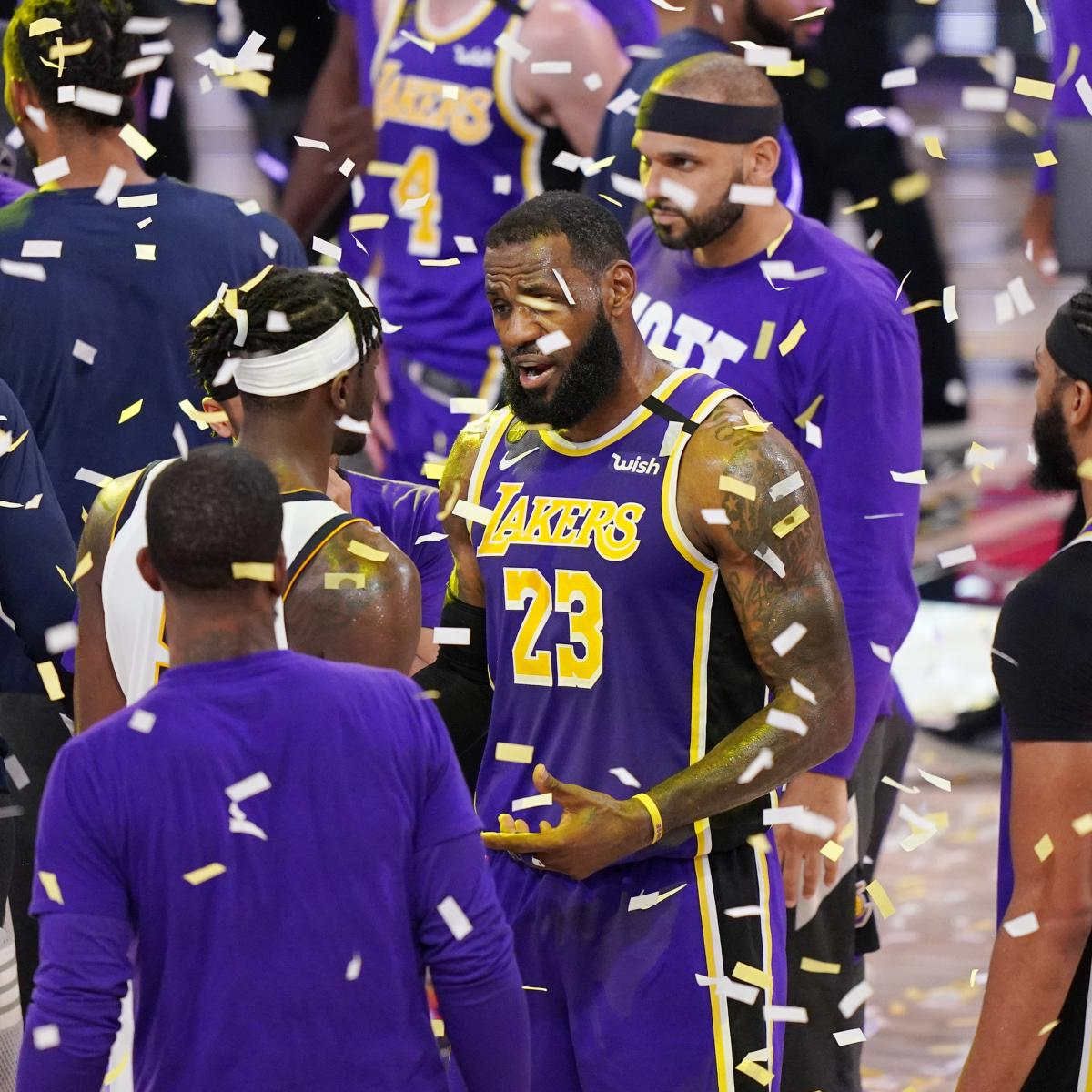 NBA Finals 2020: Heat vs. Lakers Schedule, Odds and Early ...