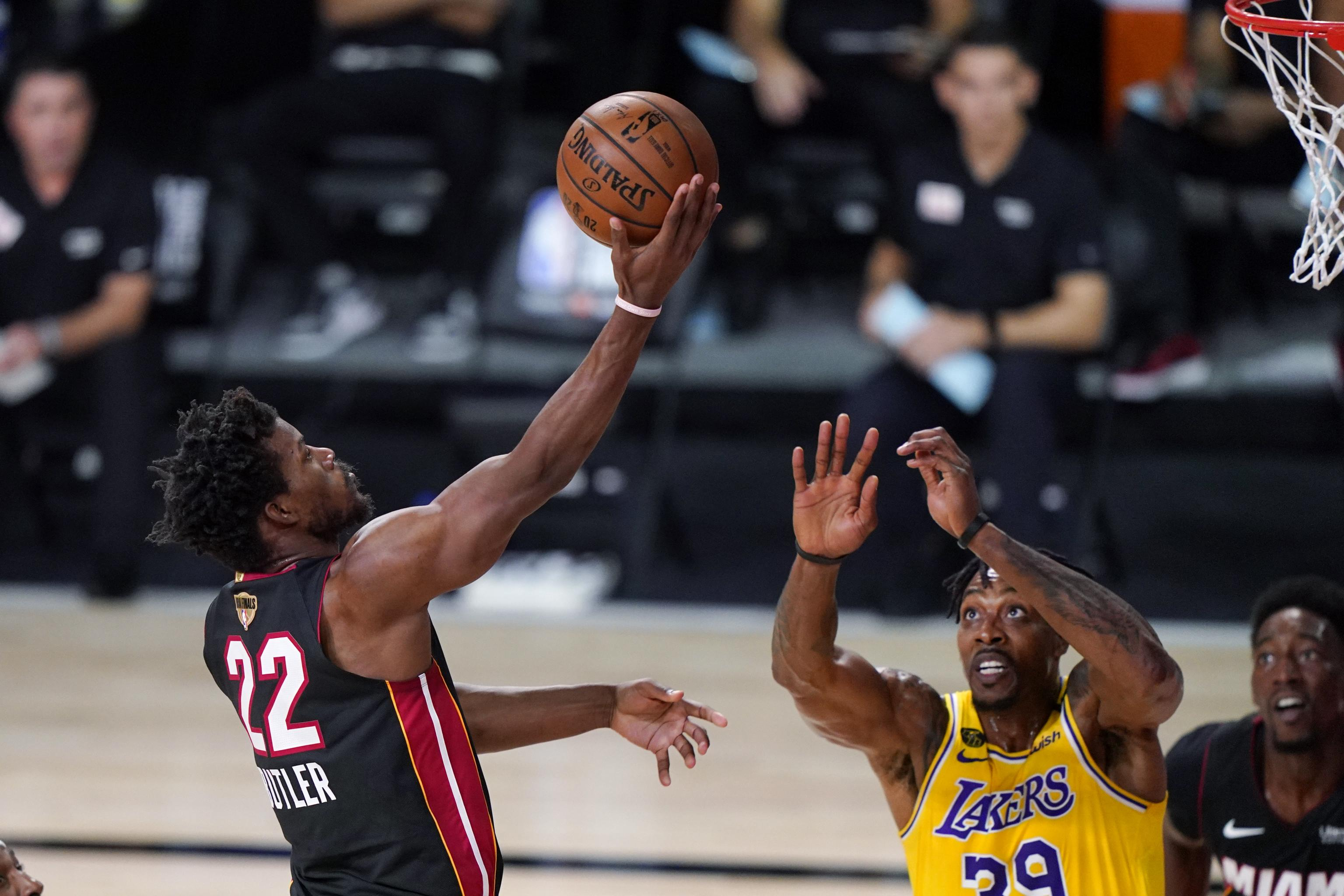 Jimmy Butler Heat Have To Put Up More Of A Fight After Game 1 Loss Vs Lakers Bleacher Report Latest News Videos And Highlights
