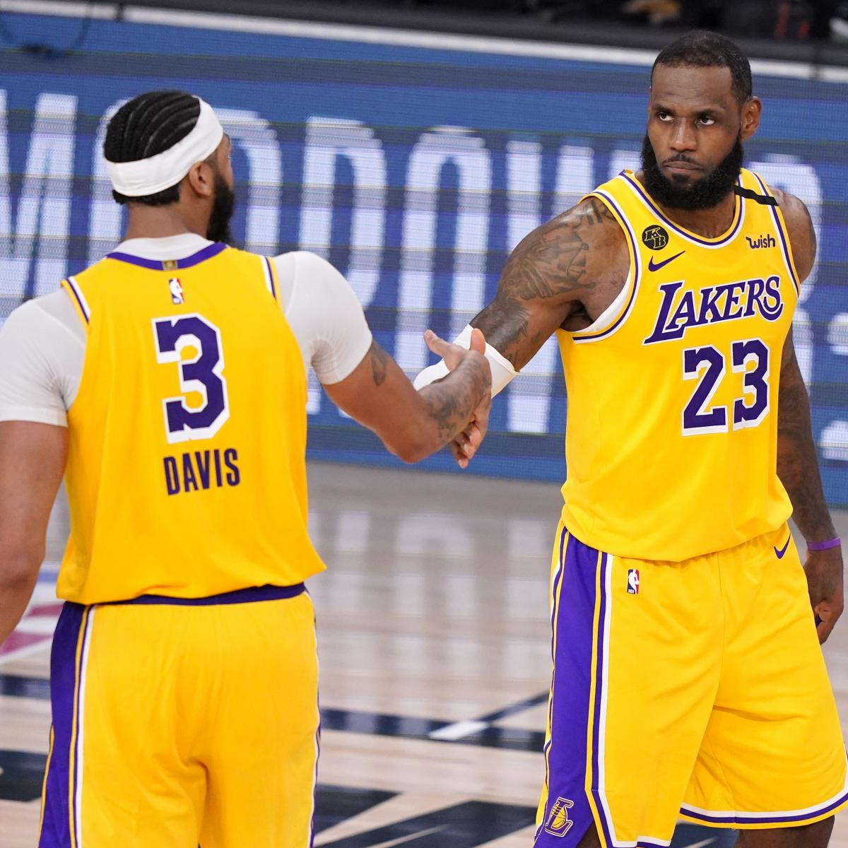 Heat vs. Lakers: Game 1 Stats and NBA Finals 2020 Game 2 ...