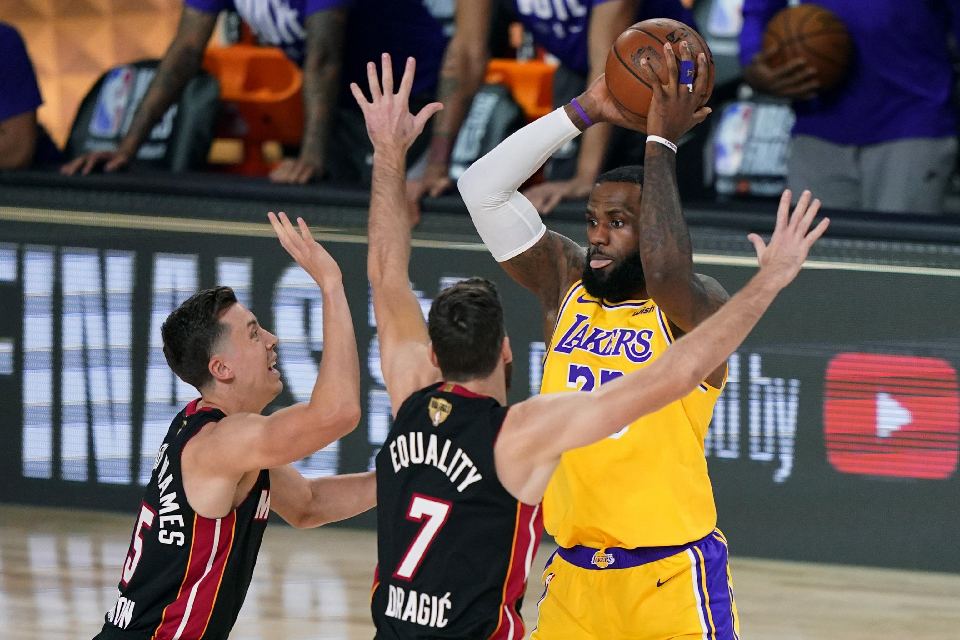 Nba Finals 2020 Heat Vs Lakers Game 2 Tv Schedule Live Stream And Odds Bleacher Report Latest News Videos And Highlights