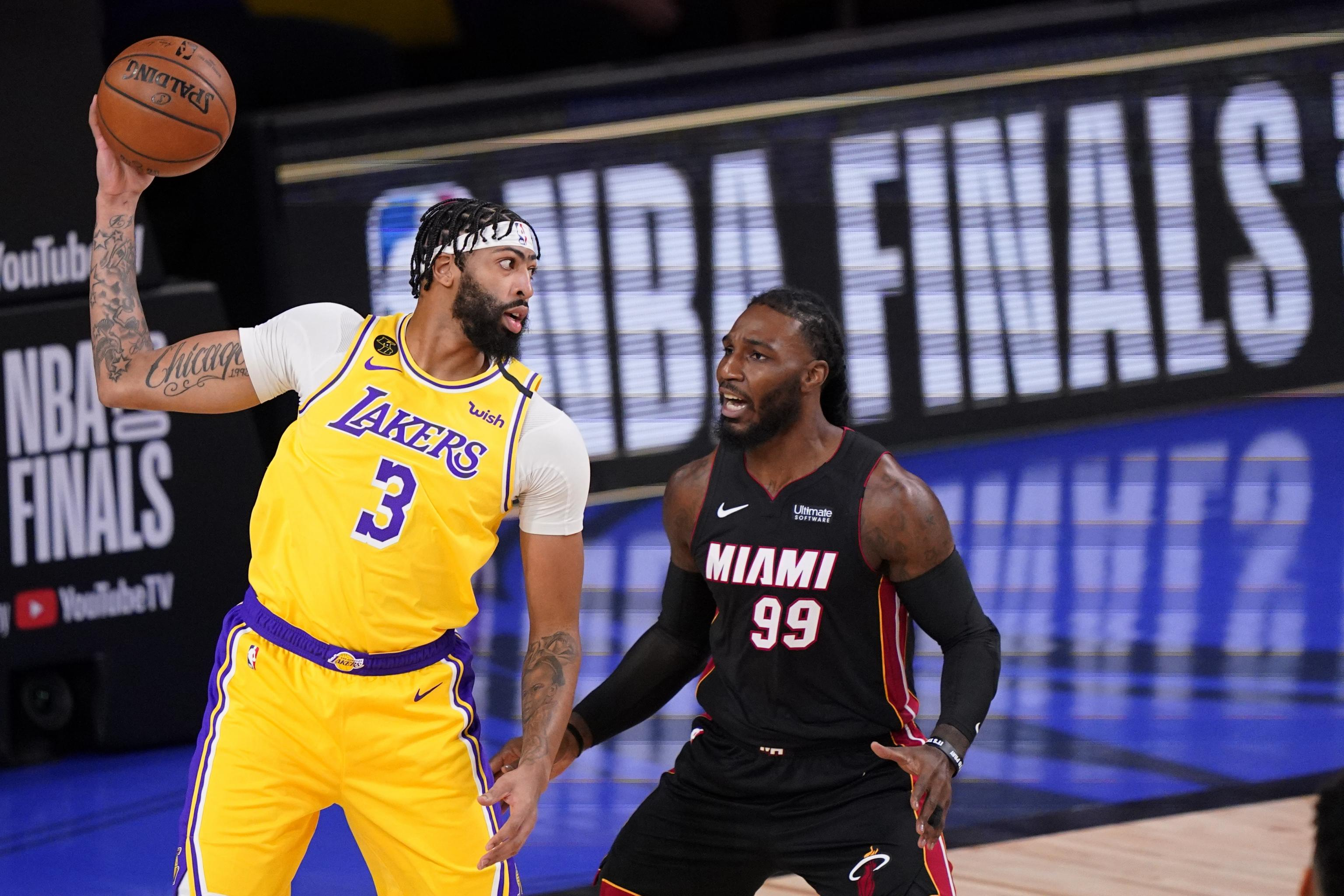 Nba Finals 2020 Odds Prop Bets Score Prediction For Heat Vs Lakers Game 2 Bleacher Report Latest News Videos And Highlights