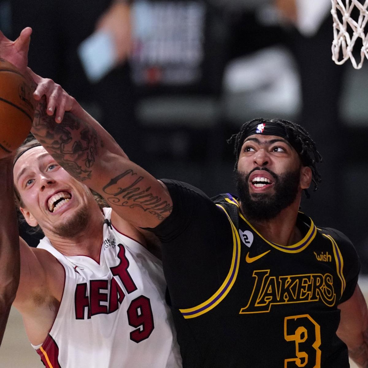 Lakers vs. Heat: Latest Comments and Odds for 2020 NBA ...