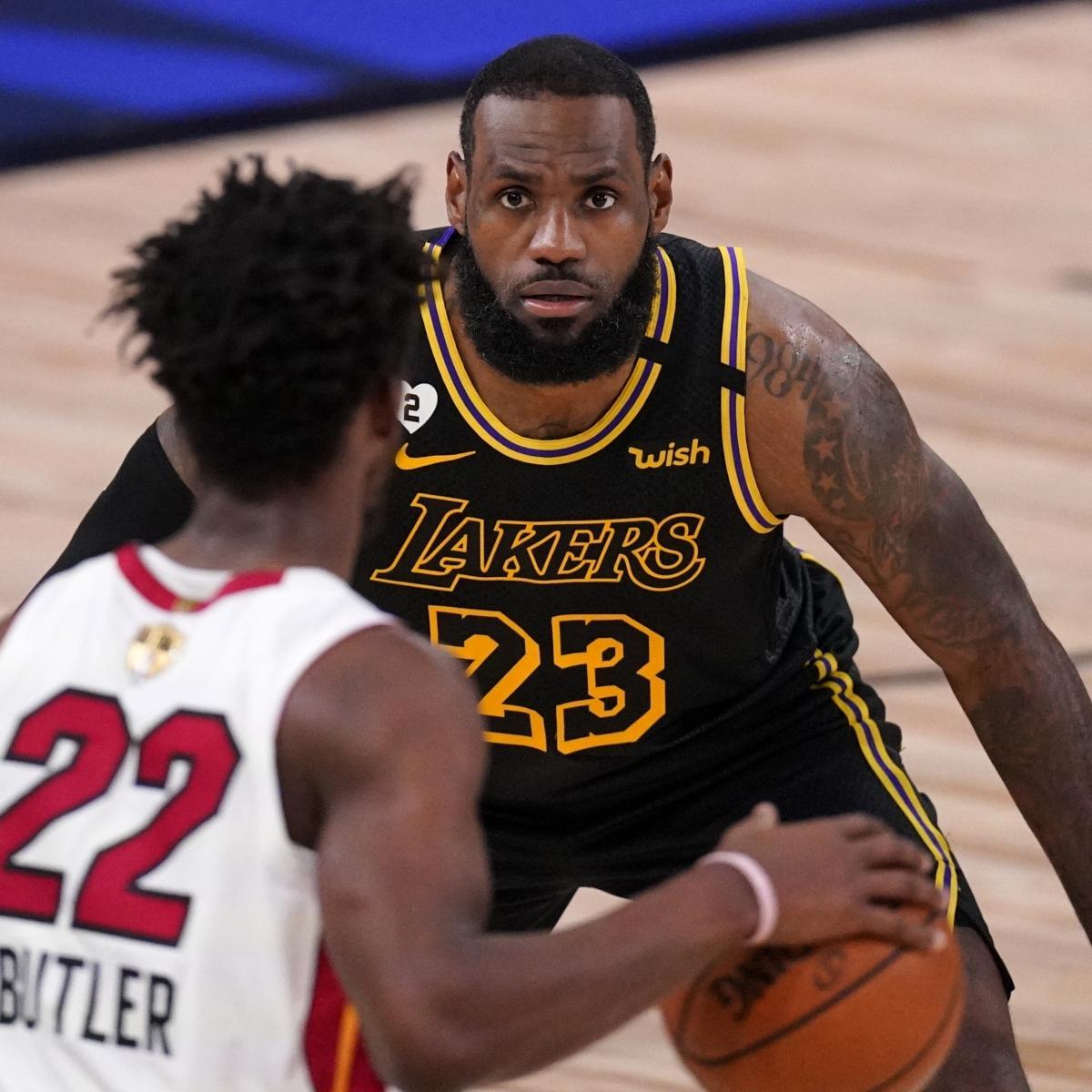 NBA Finals 2020: Lakers vs. Heat TV Schedule, Odds, Game 3 ...
