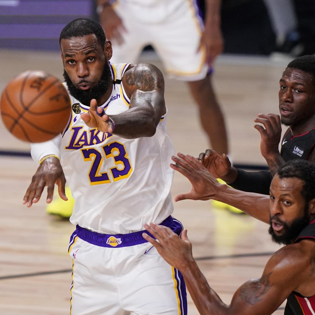 NBA Finals 2020: Odds, Prop Bets, Score Prediction for ...