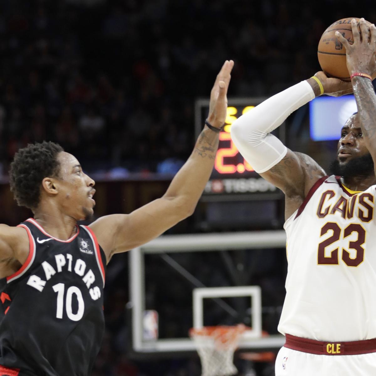 DeMar DeRozan: LeBron Told Raptors Player How to Run Toronto Play in 2016 Series