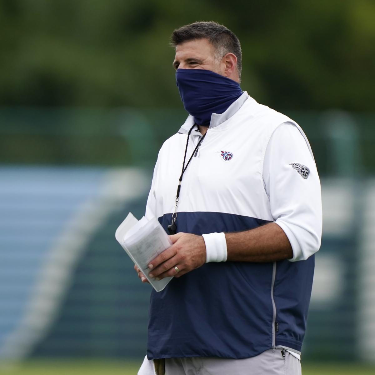 Mike Vrabel Talks Titans' Return to Facility, Practice Plans Ahead of Bills Game
