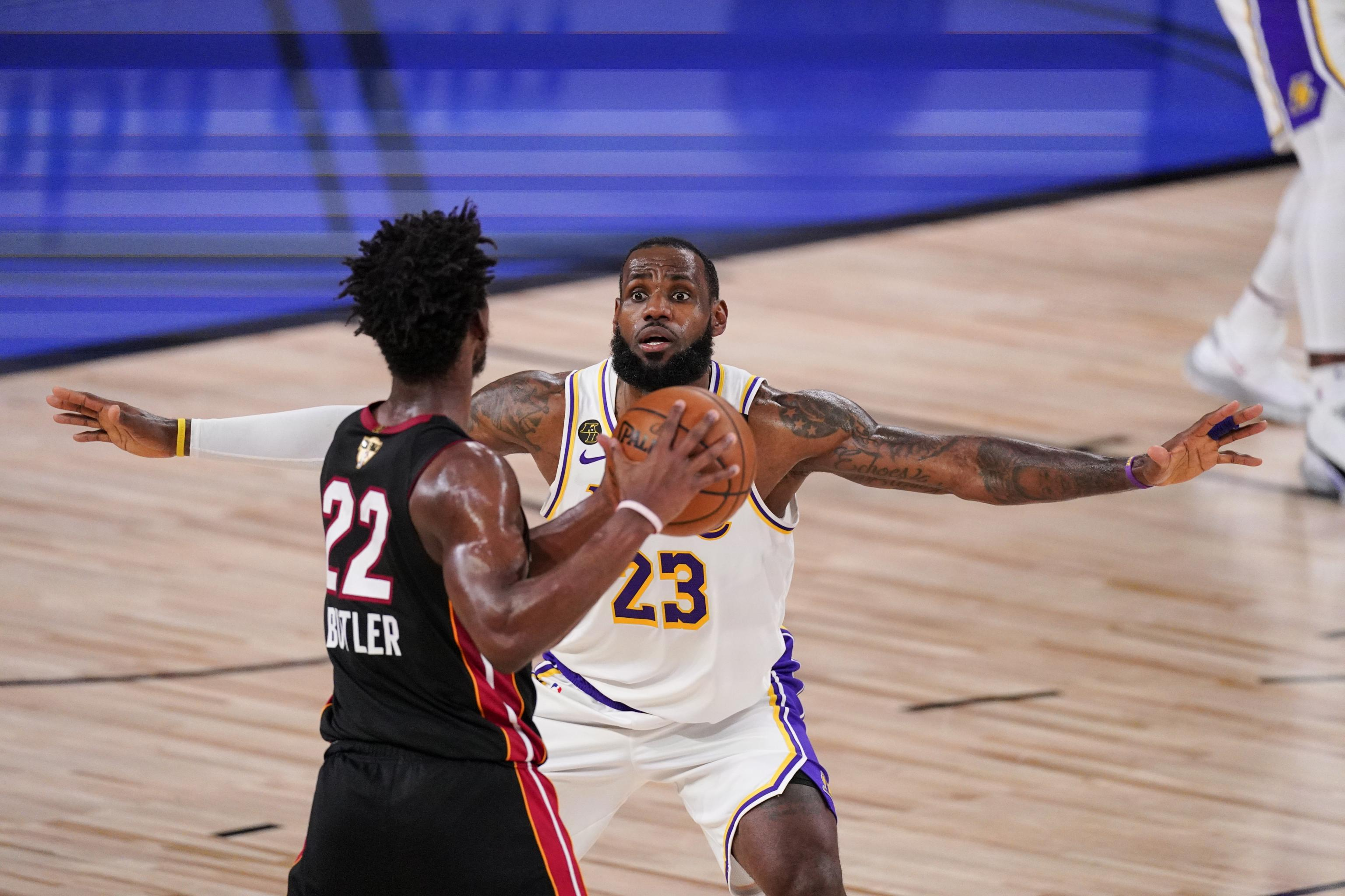 Nba Finals 2020 Lakers Vs Heat Game 6 Odds Props And Predictions Bleacher Report Latest News Videos And Highlights