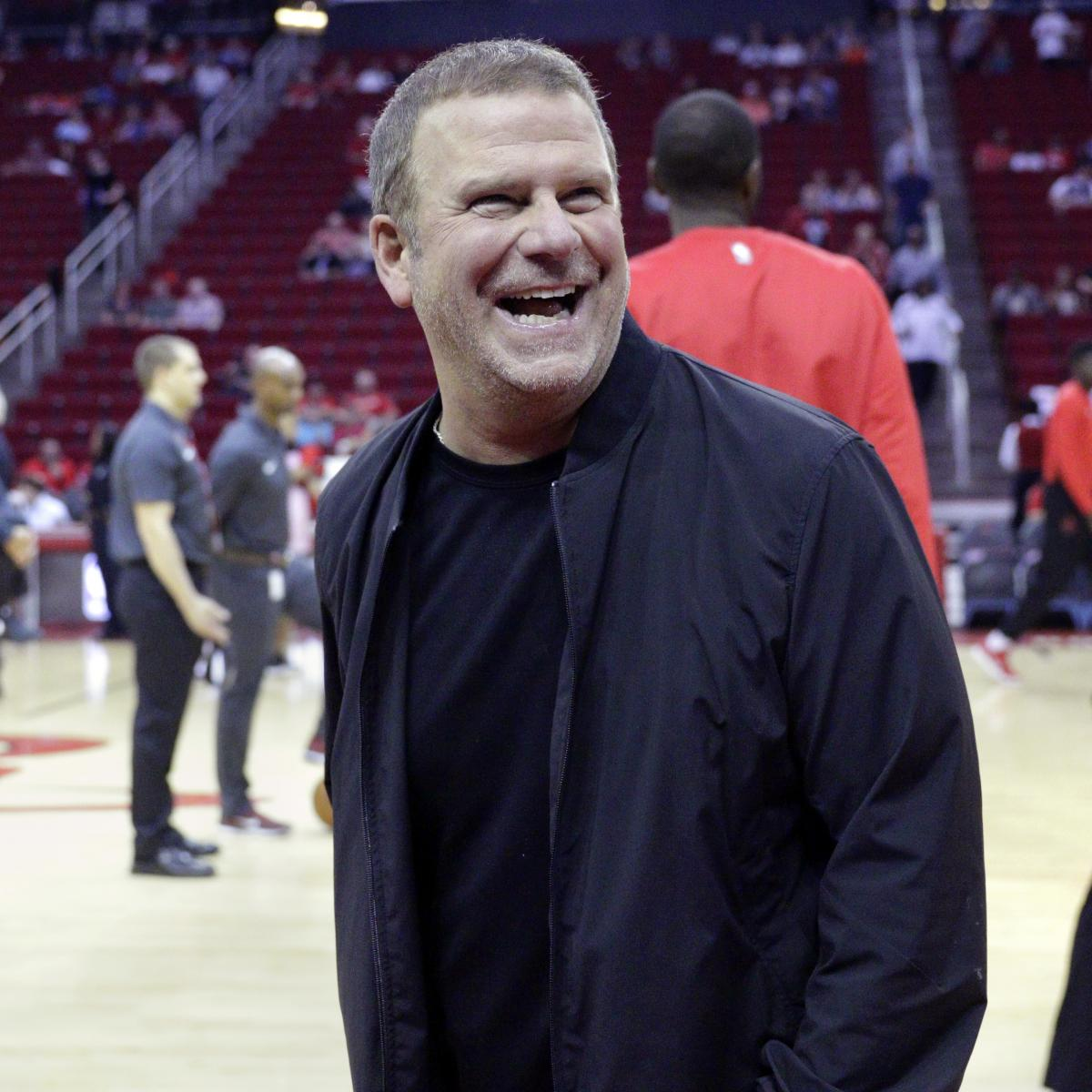 Tilman Fertitta Says Rockets 'Plan on Contending' After Daryl Morey's Departure