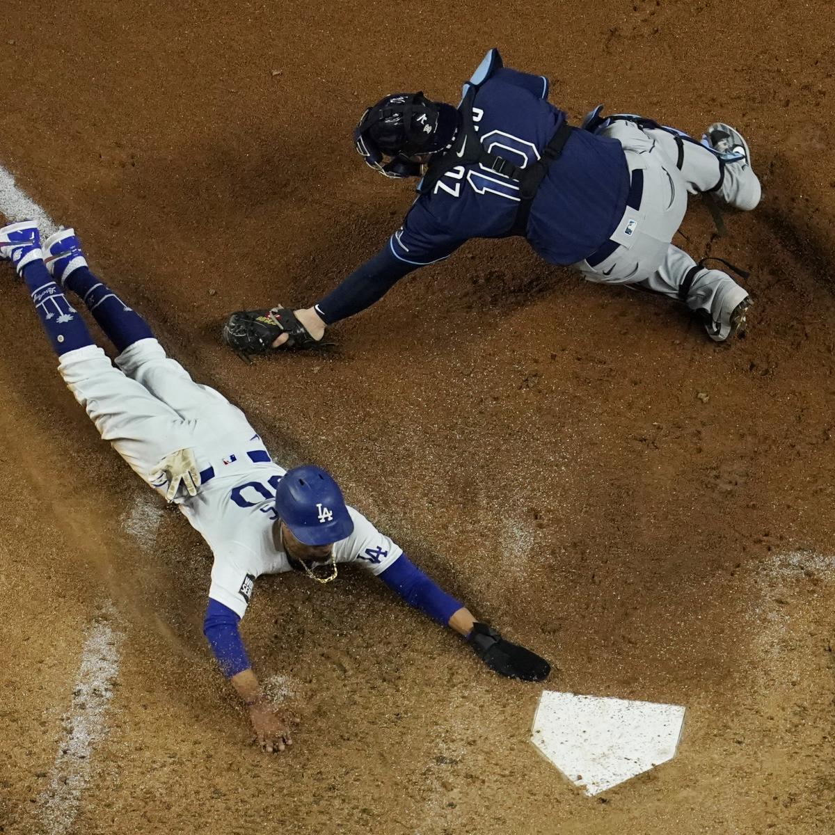 Mookie Betts, Clayton Kershaw Lead Dodgers to World Series Game 1 Win vs. Rays