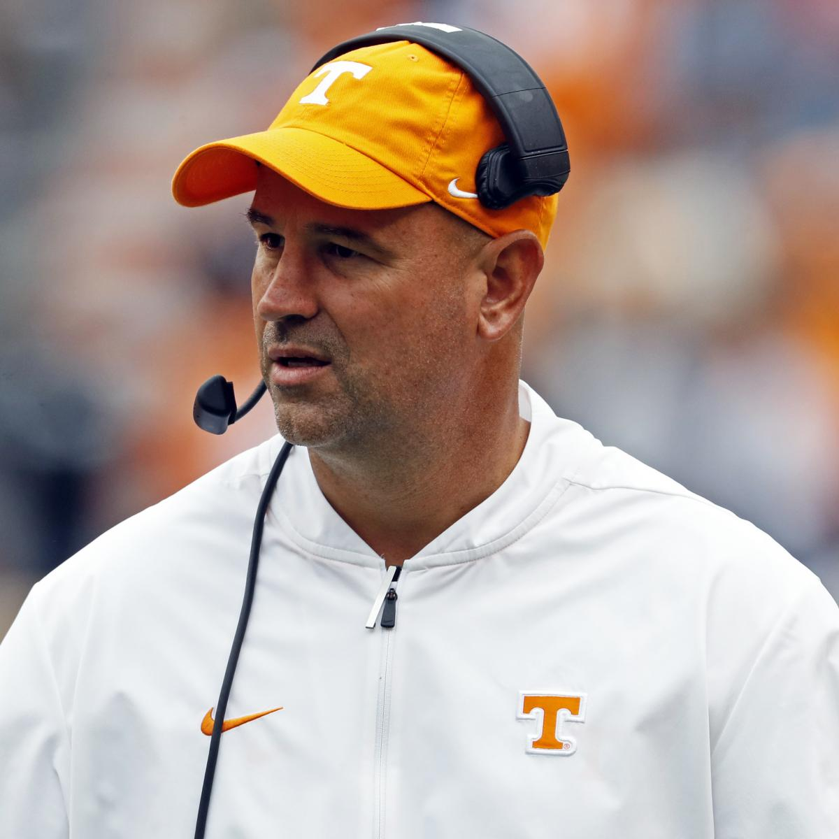 Tennessee's Jeremy Pruitt: Alabama Has Best Offense I've Ever Seen in My Life