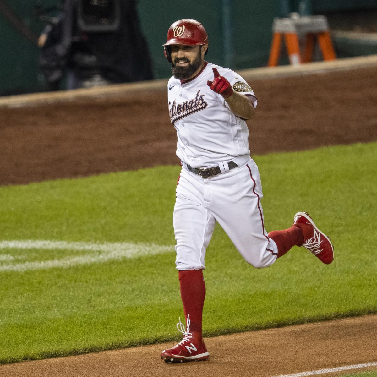 Adam Eaton's $10.5M Contract Option for 2021 Declined by Nationals