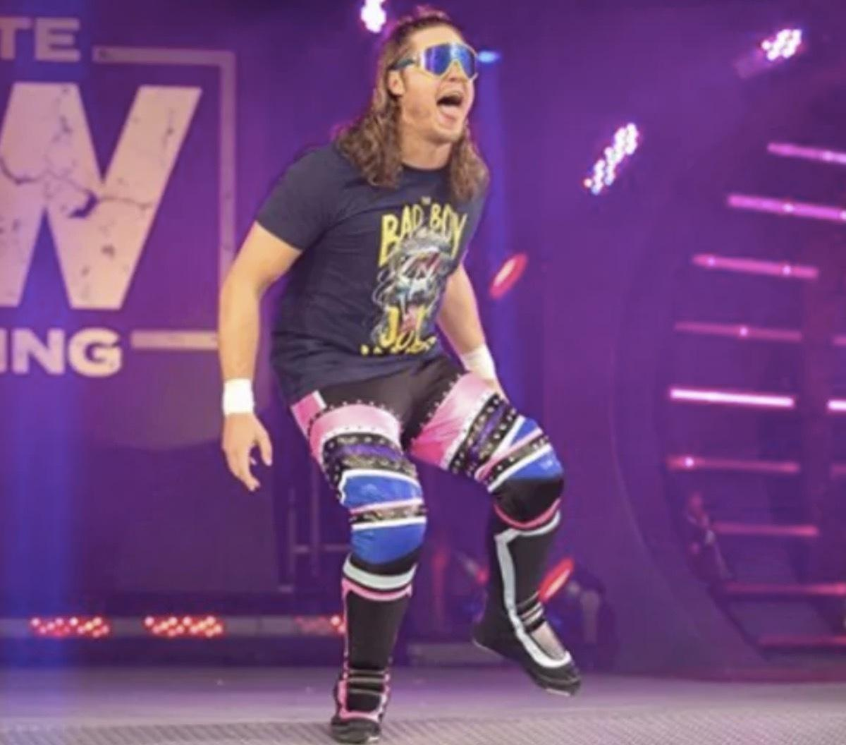 Joey Janela Pulled by AEW After Being Exposed to Person with COVID-19