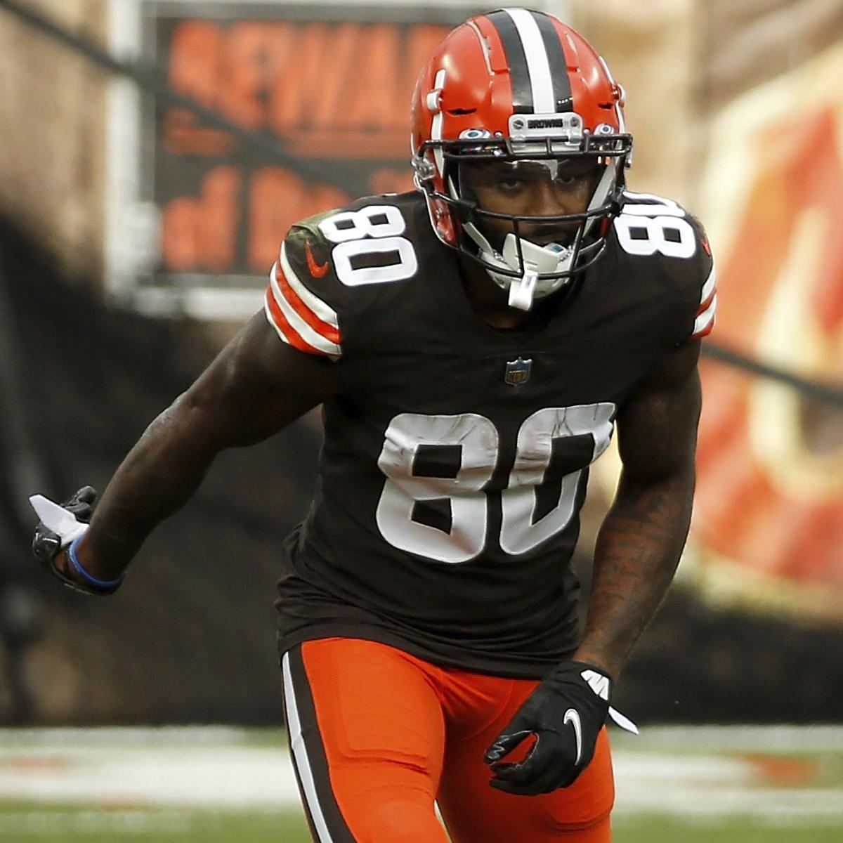 Browns' Jarvis Landry Reveals He's Playing Through Broken Rib Injury