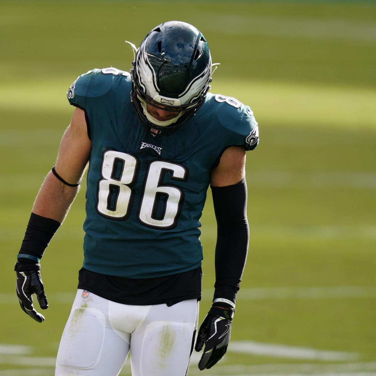Zach Ertz Trade Rumors: Eagles Were Willing to Deal TE Before Ankle Injury