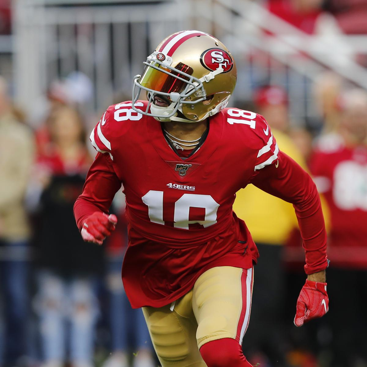 49ers Trade Rumors: Dante Pettis Made Available Ahead of 2020 Deadline