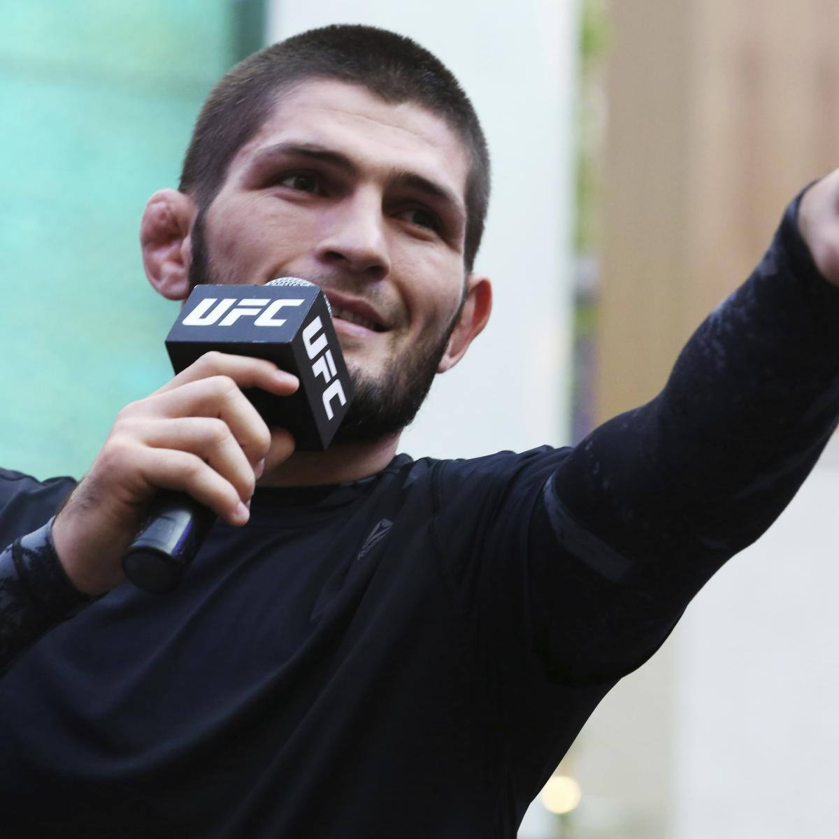 UFC 254 Fight Card: PPV Schedule, Odds and Predictions for Khabib vs. Gaethje