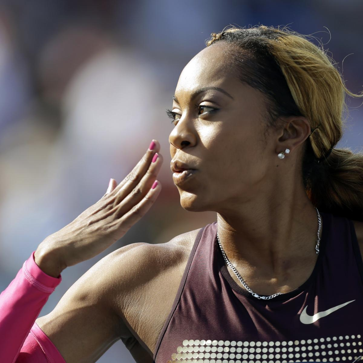 Sanya Richards-Ross Talks Olympics, Meeting Serena Williams, Kobe in B/R AMA