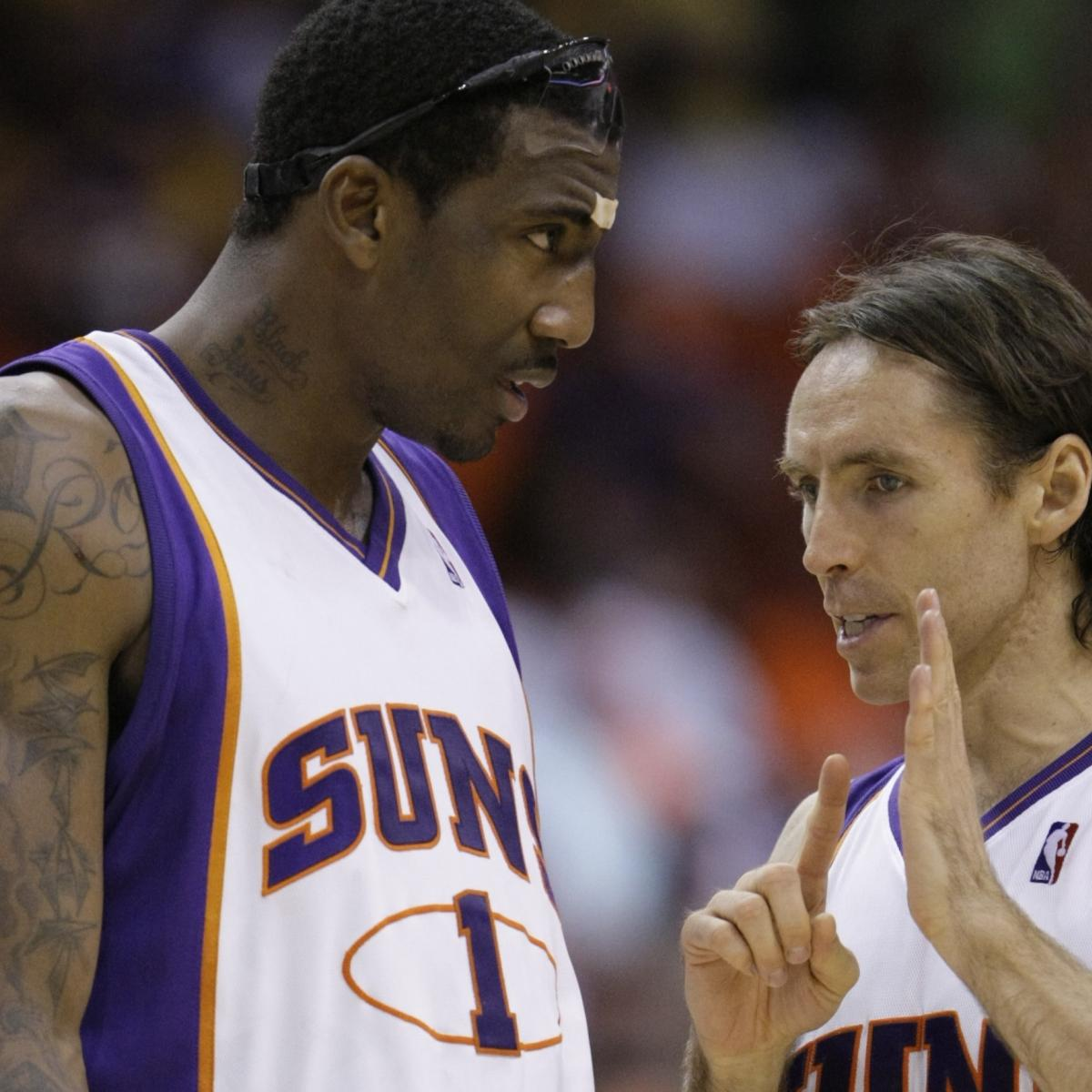 Report: Amar'e Stoudemire Agrees to Join Steve Nash's Nets Staff as Assistant