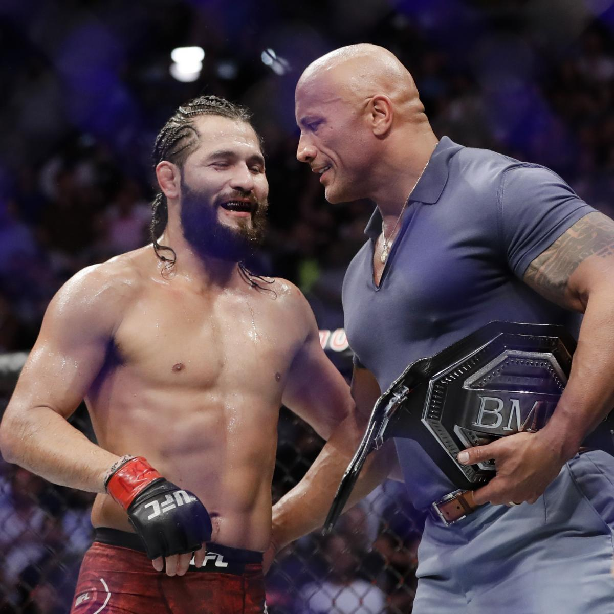 The Rock Will Be Among 1st Guests Invited to UFC's Fight Island, Says Dana White