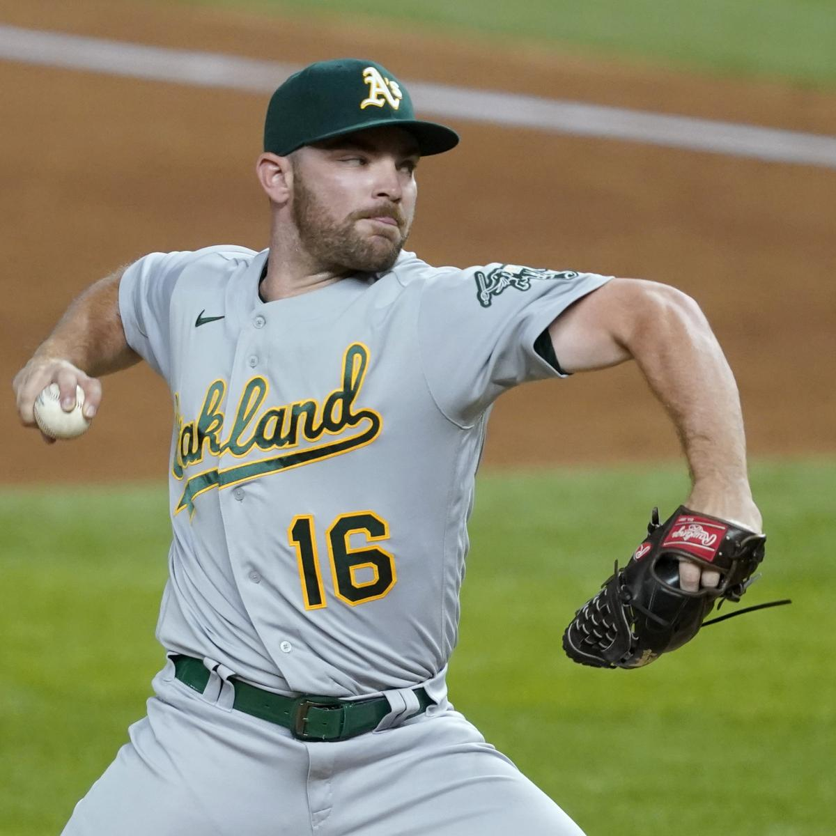 A's Liam Hendriks, Brewers' Devin Williams Named 2020 MLB Relievers of the Year