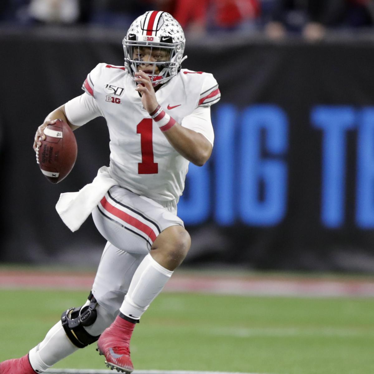 College Football Rankings 2020: Week 9 Polls and Top 25 Standings Predictions