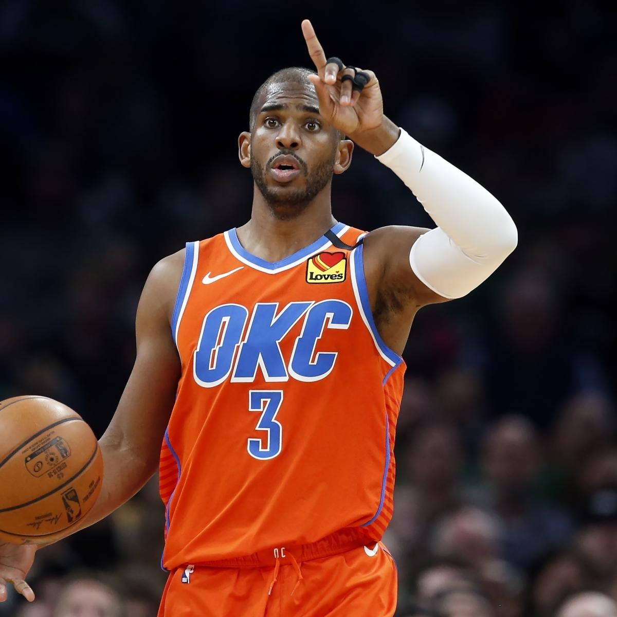 Why the NBA's Biggest Offseason Prize Could Be 35-Year-Old Chris Paul