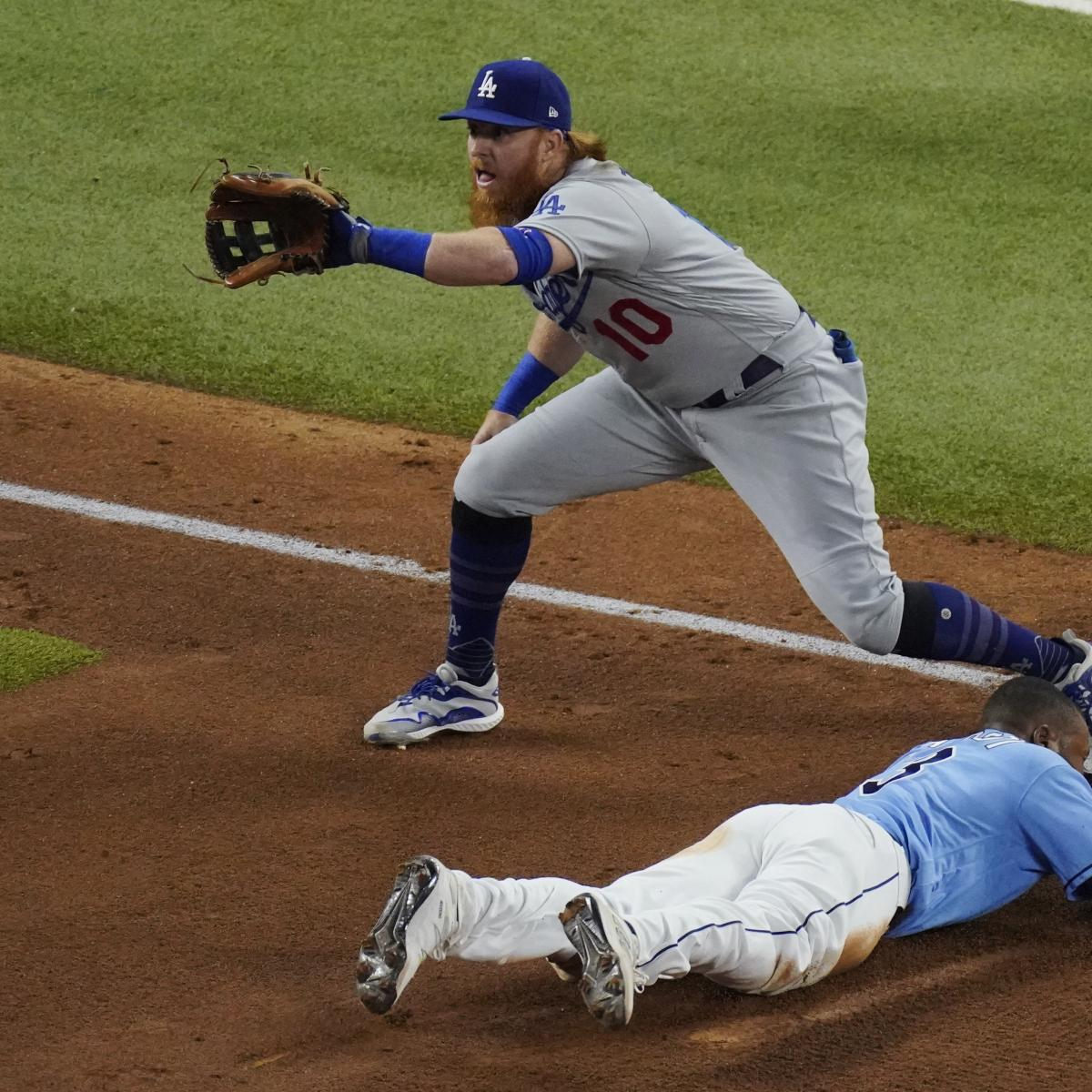 Dodgers' Justin Turner Pulled from Game 6 Due to Positive COVID-19 Test