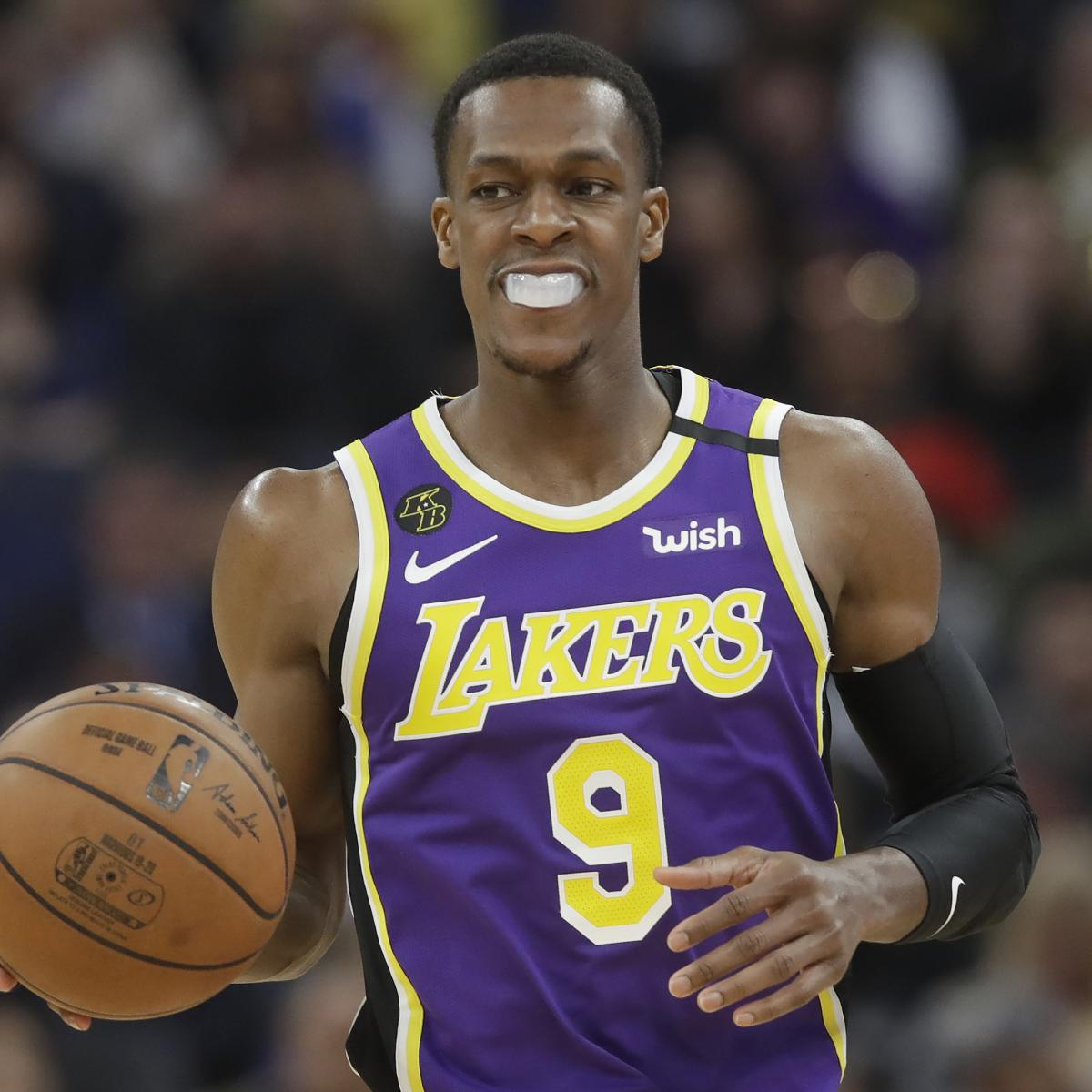 Clippers Rumors: Lakers' Rajon Rondo a Target in 2020 NBA Free Agency