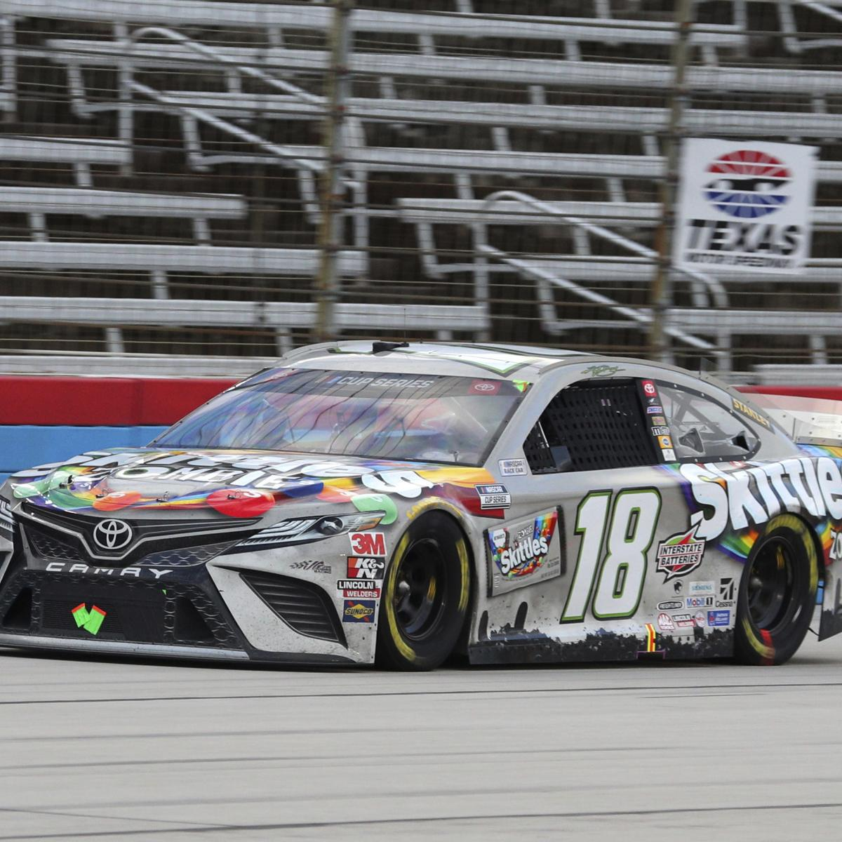 NASCAR at Texas 2020 Results: Kyle Busch Snaps Drought, Earns 1st Win of Season