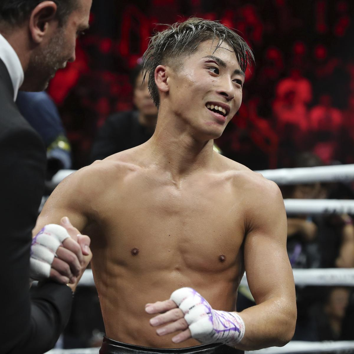Naoya Inoue Beats Jason Moloney Via 7th-Round Knockout in Bantamweight Fight - Bleacher Report