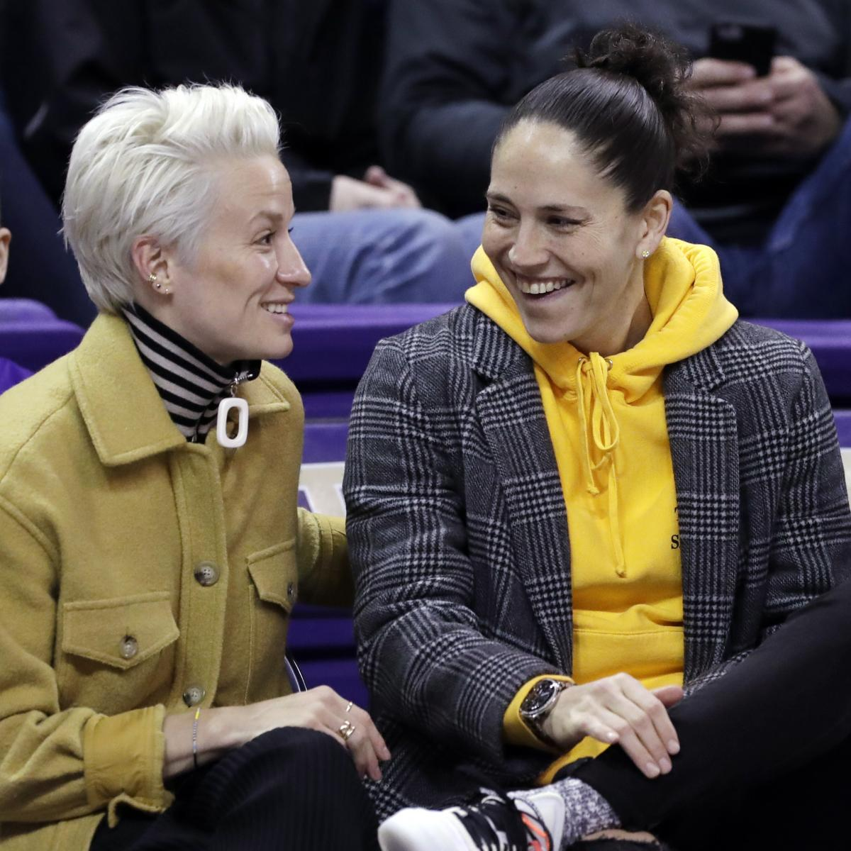Sue Bird, Megan Rapinoe Announce Engagement on Instagram