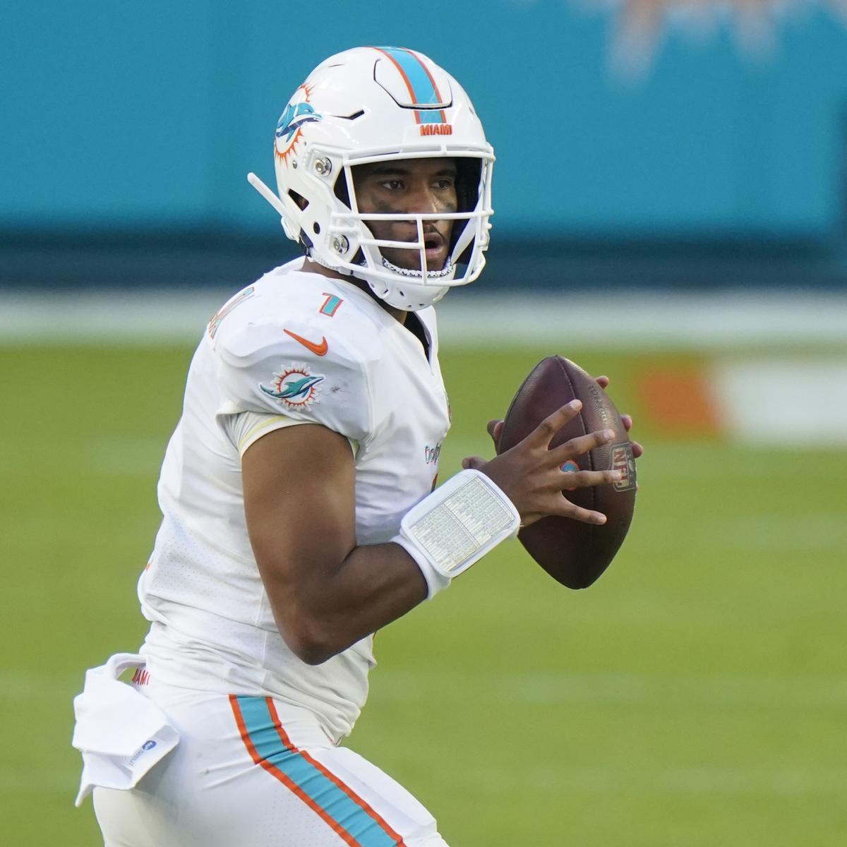 Tua Tagovailoa 'Did Enjoy' Being Hit for 1st Time in Dolphins' Win vs. Rams