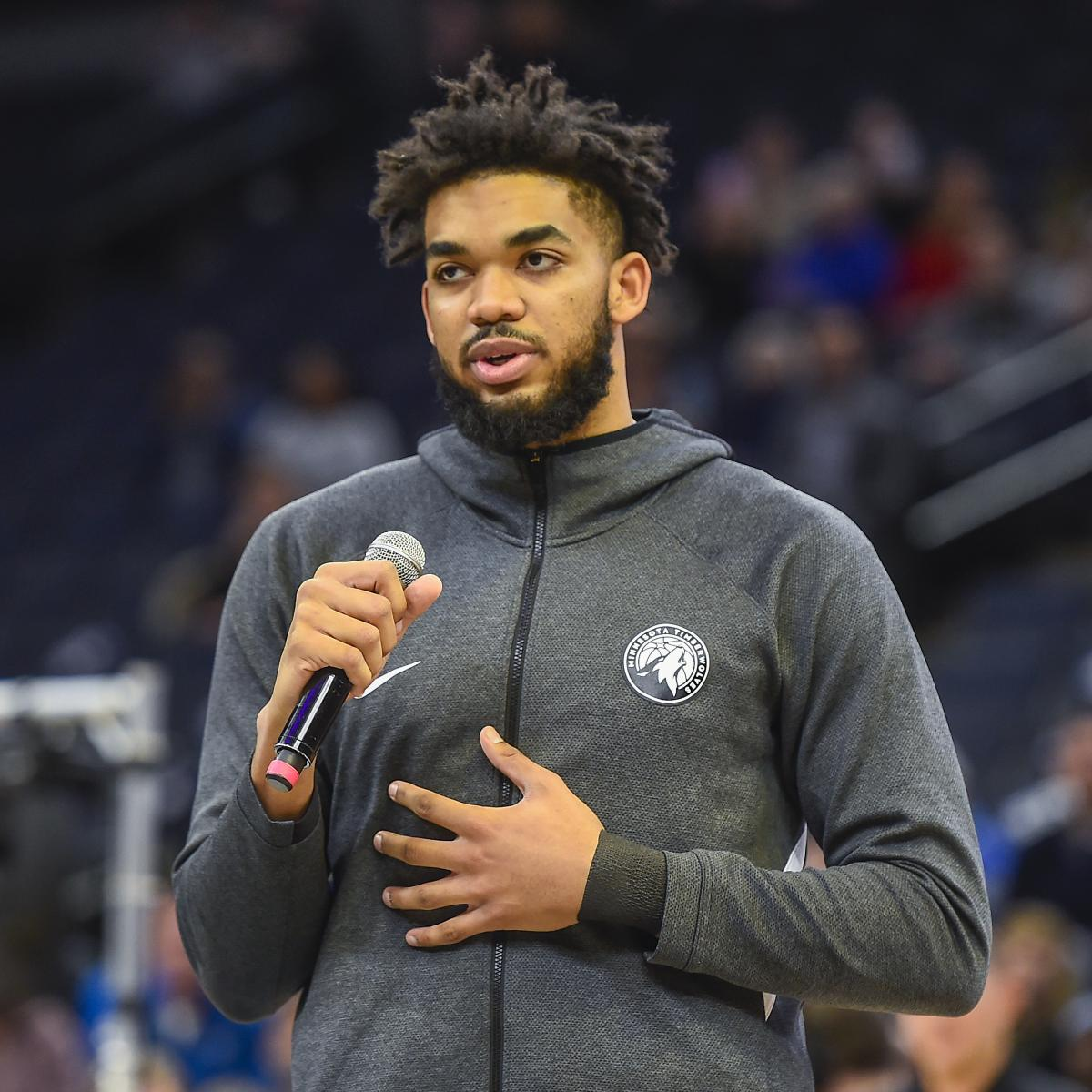 Karl-Anthony Towns Opens Up on Mother's Death from COVID-19 Complications