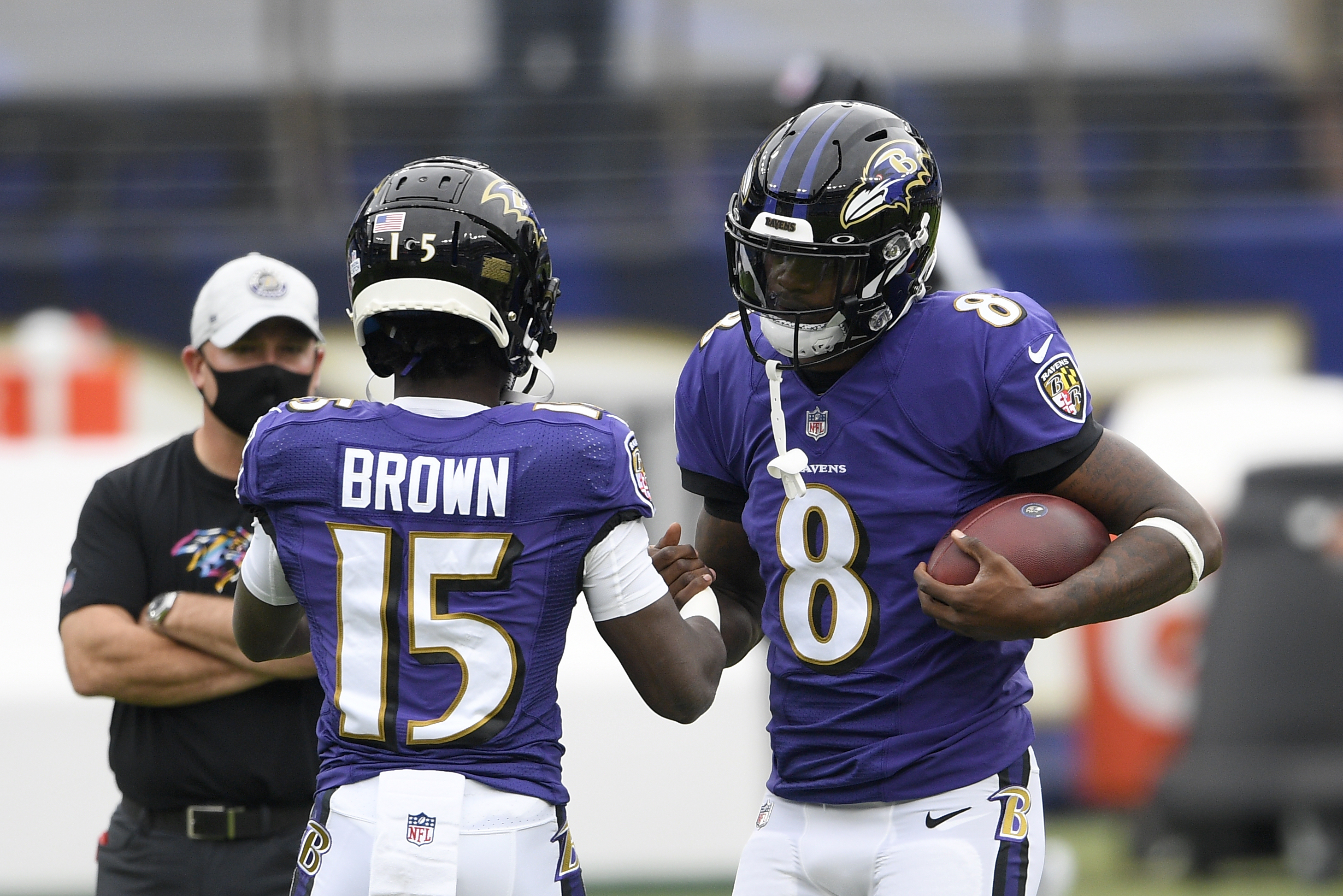 Ravens' Lamar Jackson on Marquise Brown's Tweet: 'I Want to Get Him the  Ball' | Bleacher Report | Latest News, Videos and Highlights