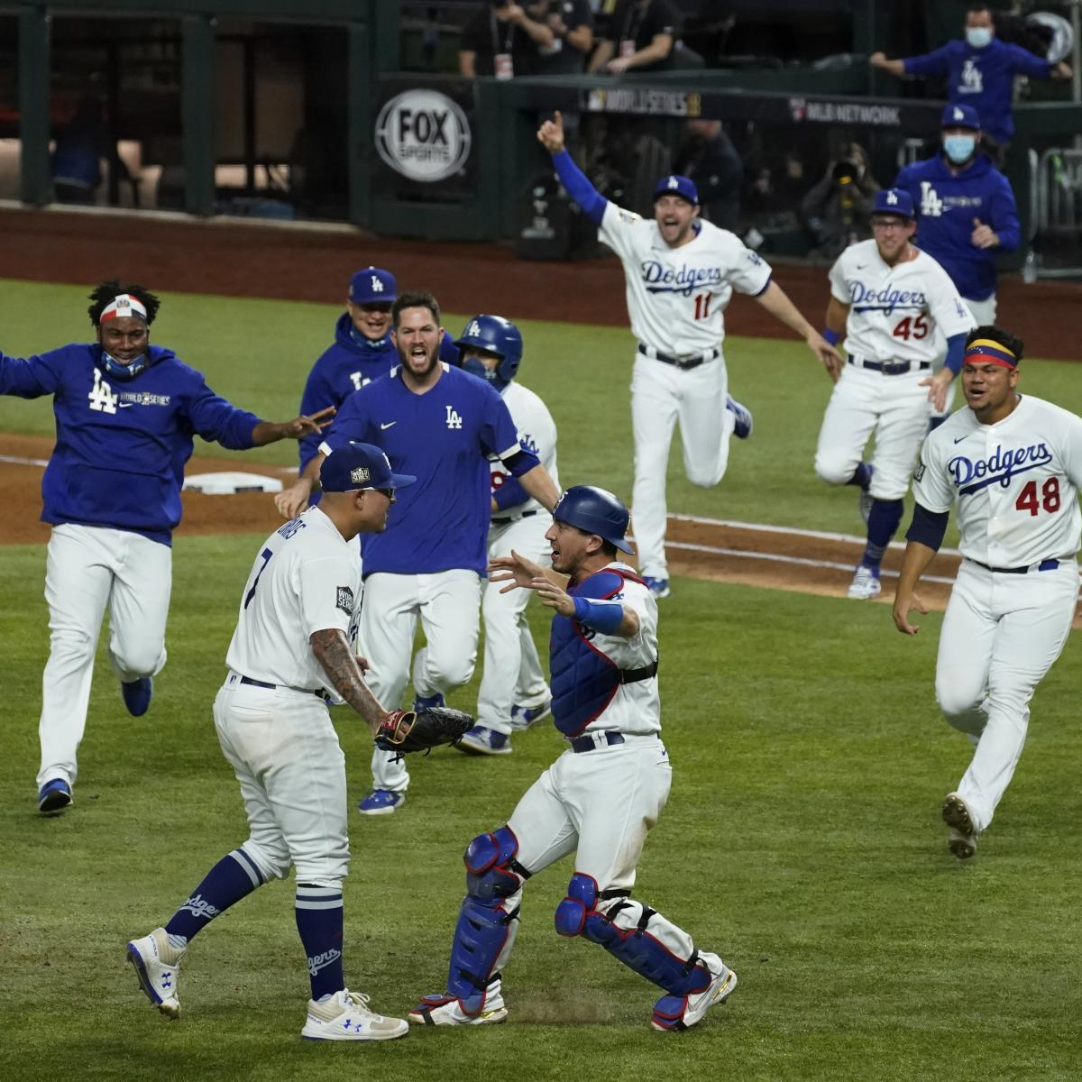 Dodgers Organization Has 9 Positive COVID-19 Tests After World Series Win