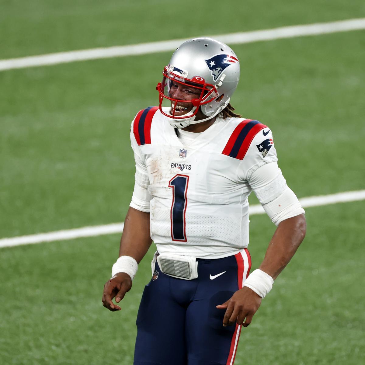 Patriots' Cam Newton Talks Recent Improvements: 'I'm Getting Tired of Sucking'