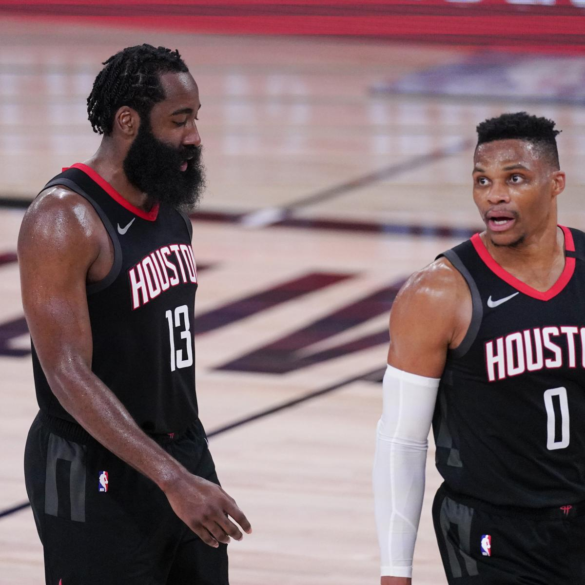 Report: James Harden Accountability, P.J. Tucker Contract Among Rockets' Gripes