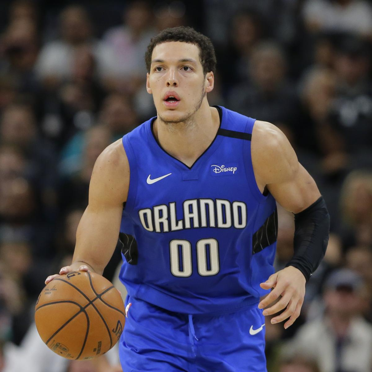 Aaron Gordon Trade Rumors: Magic Looking to Move into Lottery with Star, No. 15