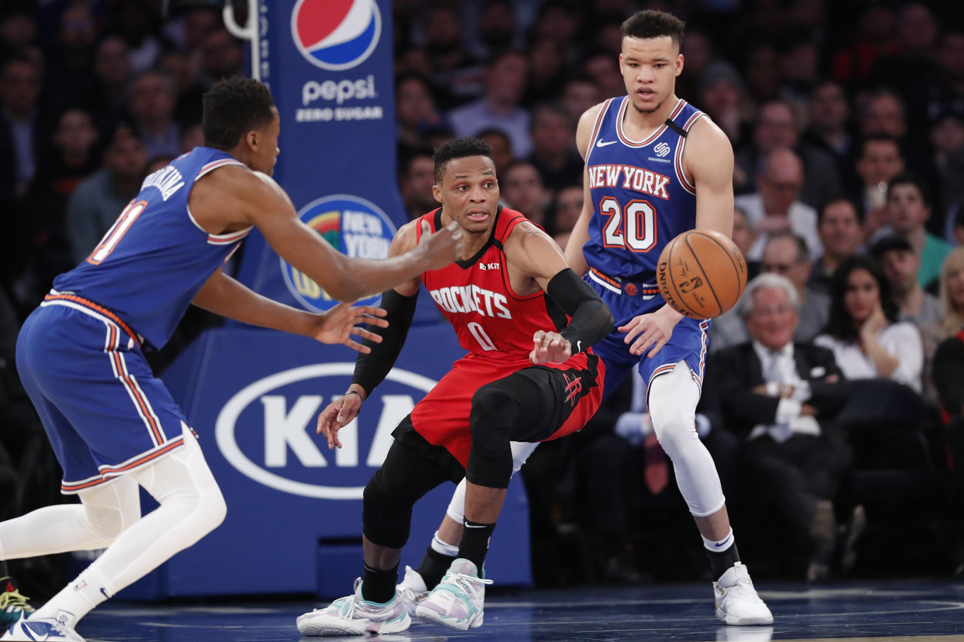 Russell Westbrook Trade Rumors: Knicks 'Being Careful' Pursuing Rockets Star | Bleacher Report | Latest News, Videos and Highlights