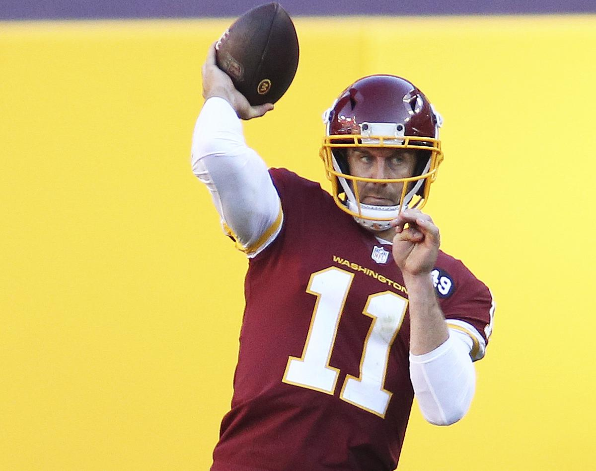 Alex Smith to Start for WFT for 1st Time in 728 Days Following 17 Surgeries
