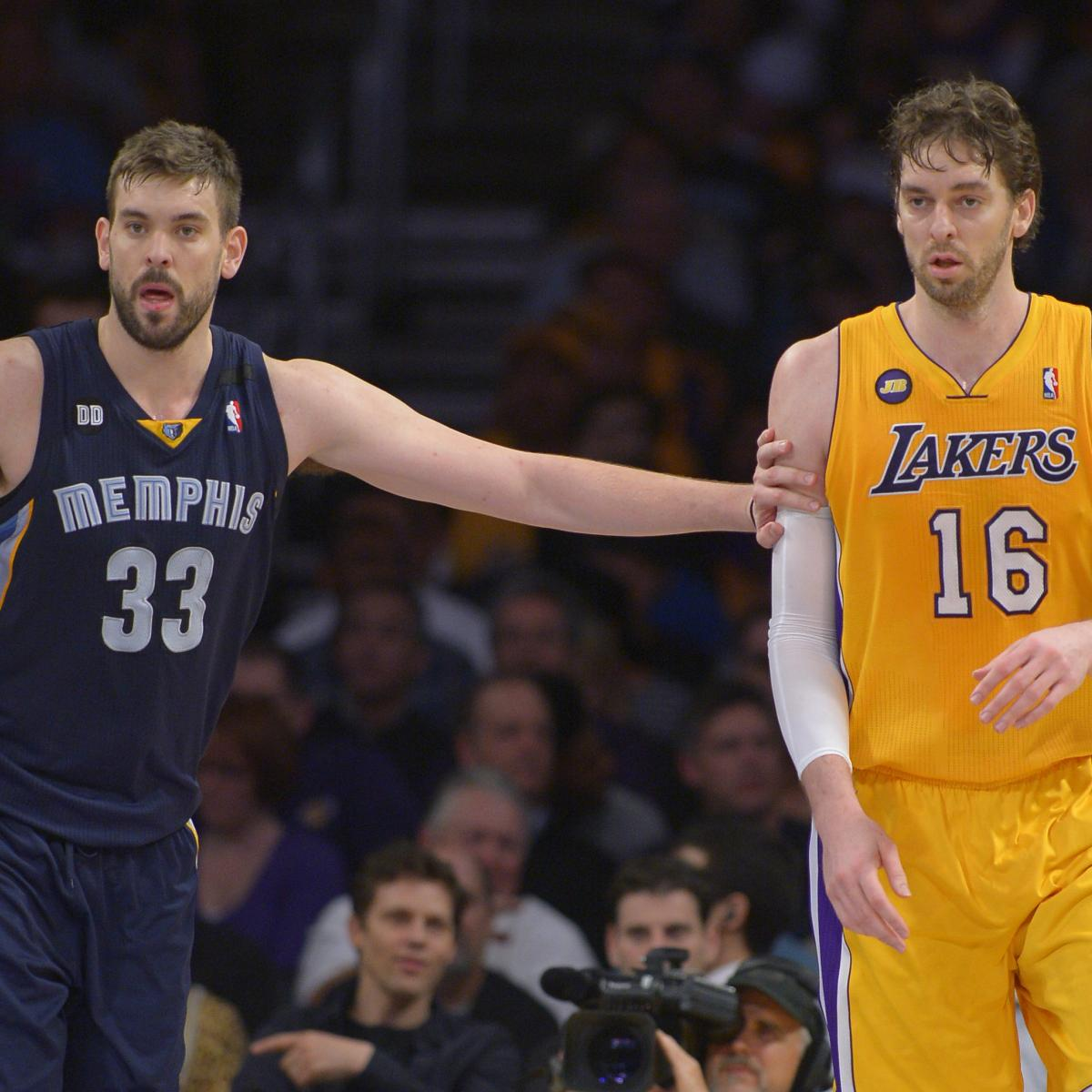 Lakers News: Marc Gasol 'Sure' Brother Pau 'Would Love to Come Back' to LA