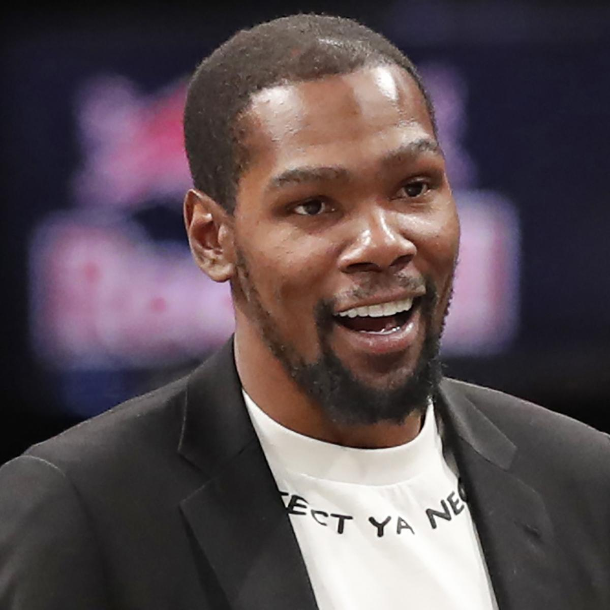 Nets' Kevin Durant Says Michael Jordan Is 'God Level,' Best NBA Scorer Ever