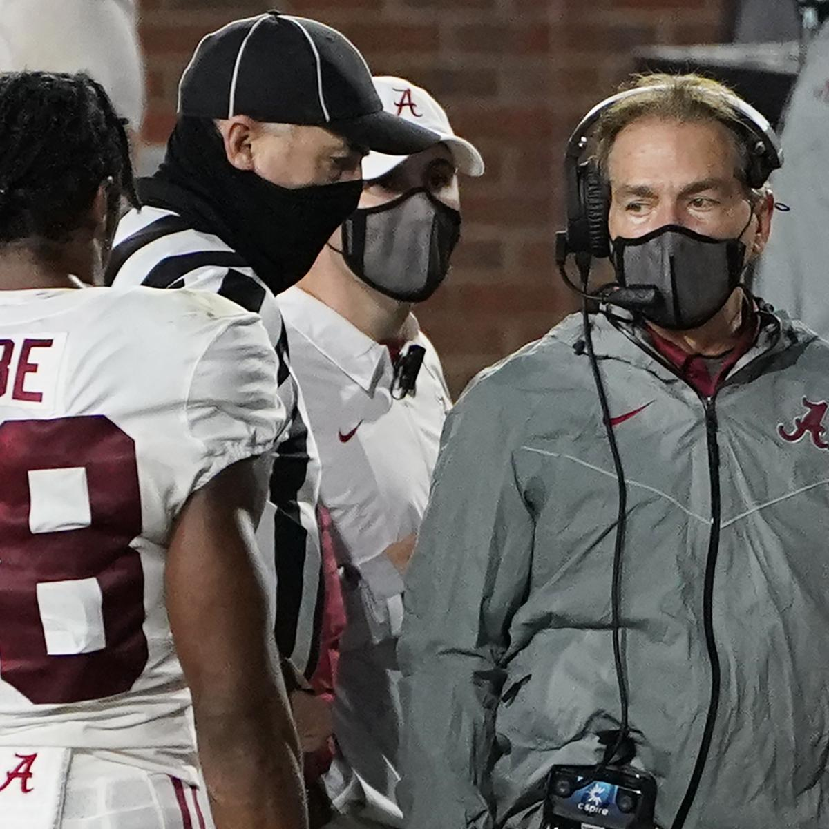 Nick Saban Expects to Be on Sideline for Alabama vs. LSU After COVID-19 Absence