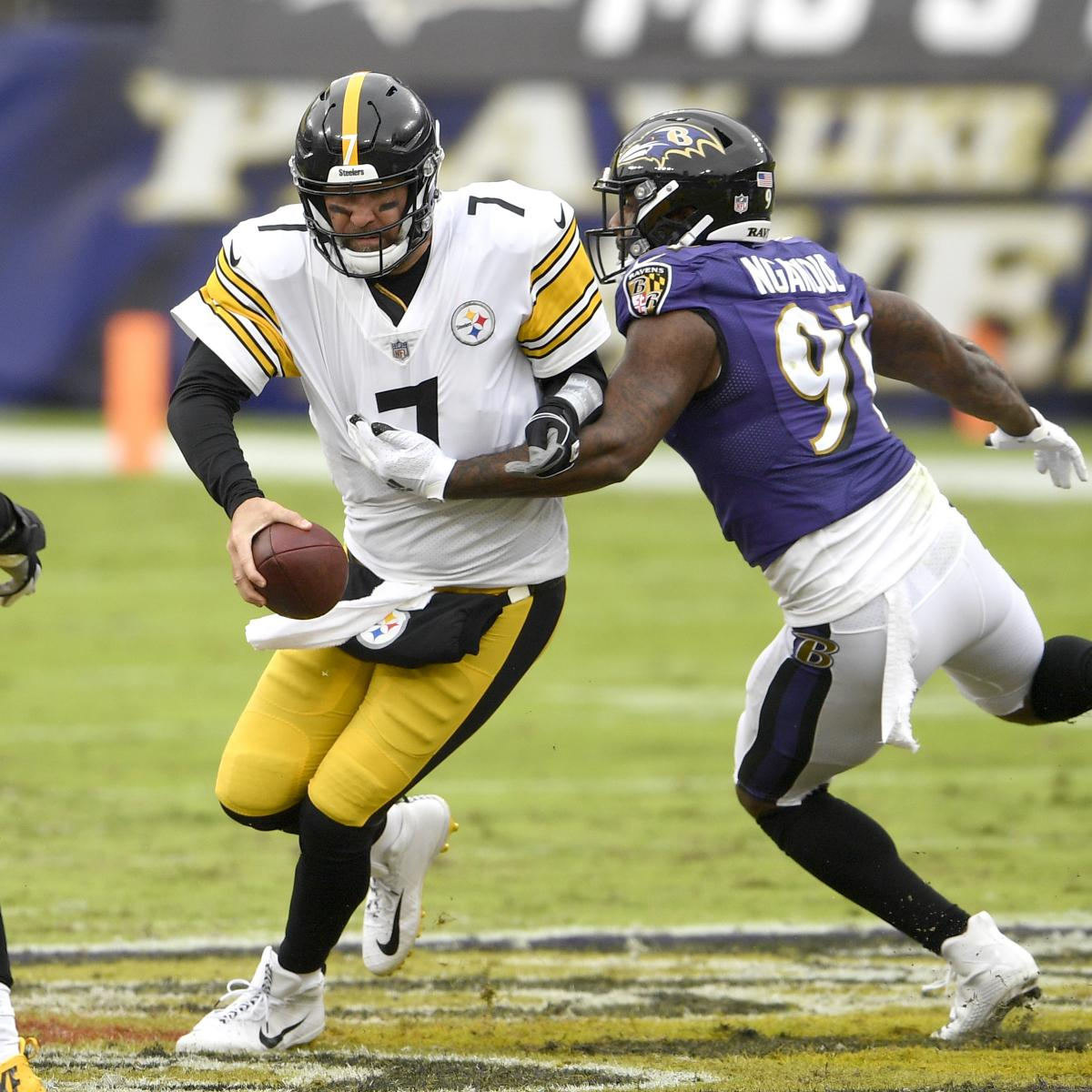 Ravens vs. Steelers to Be Played Wednesday After Daily COVID-19 Testing