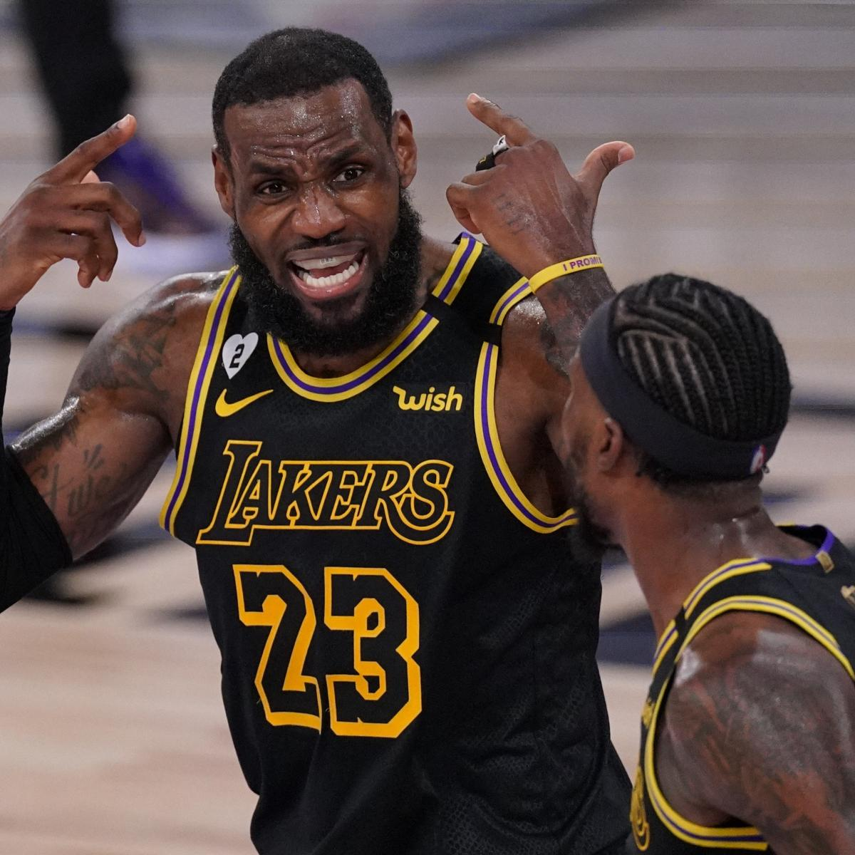 LeBron James, Lakers Agree to 2-Year, $85 Million Max Contract Extension
